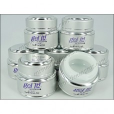 GEL UV UNGHII PROFESIONAL 3 IN 1 ``Gel it !`` - CLEAR