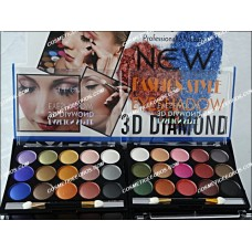 TRUSA FARD 15 CULORI 3D DIAMOND - DO DO GIRL Profesional Make Up