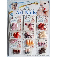 ART NAILS - UNGHII FALSE CU MODEL